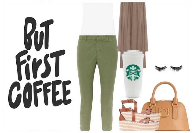 como combinar pantalon verde
